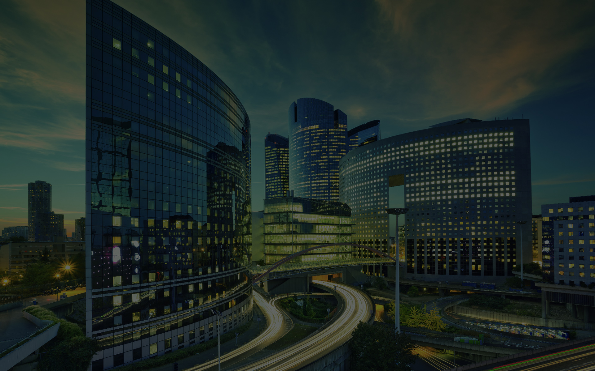financial buildings and businesses